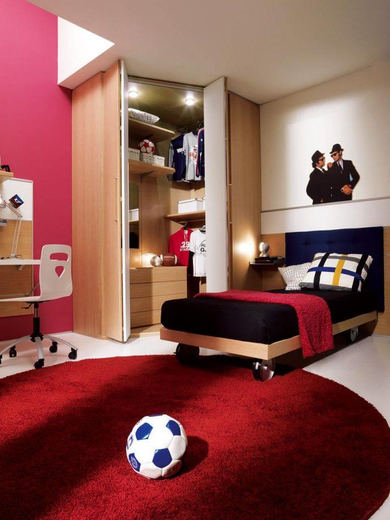 cabine armadio su misura per camerette bambini - marzorati camerette - Armadio Angolare Cameretta