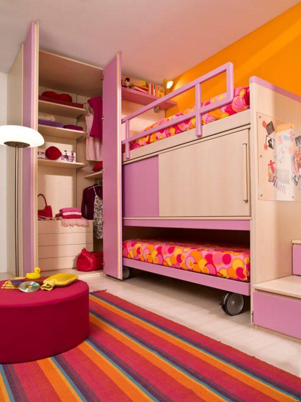 Cameretta completa per bambini - LS10 - Marzorati Camerette