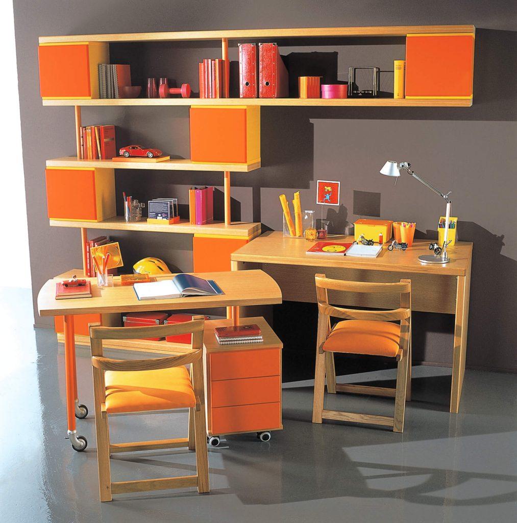 Scrivanie e librerie per ragazzi disegno idea camerette for Libreria per bambini ikea