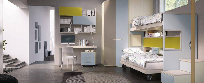 Cabine armadio su misura per camerette bambini marzorati - Camerette con cabina armadio ...