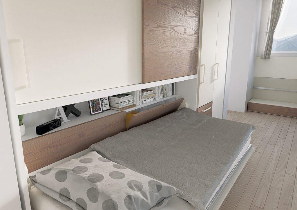 Cameretta completa per bambini playwood 15 marzorati camerette - Culla vicino al letto ...