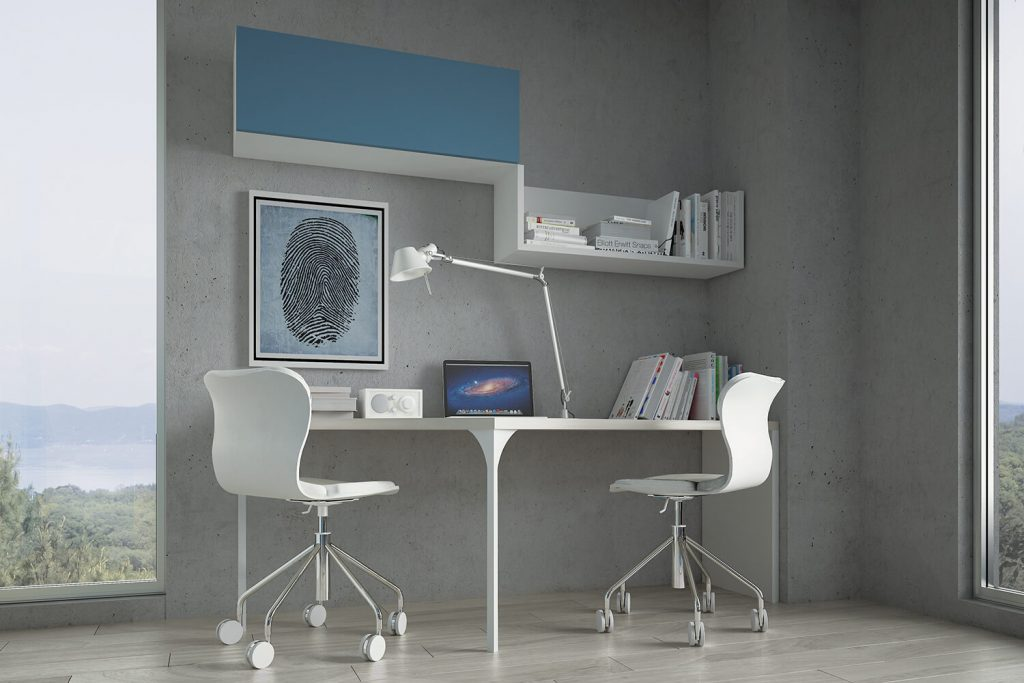 Libreria bianca design duzzle mensola me bianca tft with for Mensola bianca lucida