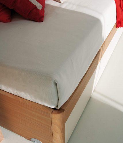 pw02 letto con ruote